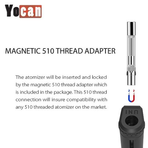 Yocan UNI Magnetic 510 Thread Adapter