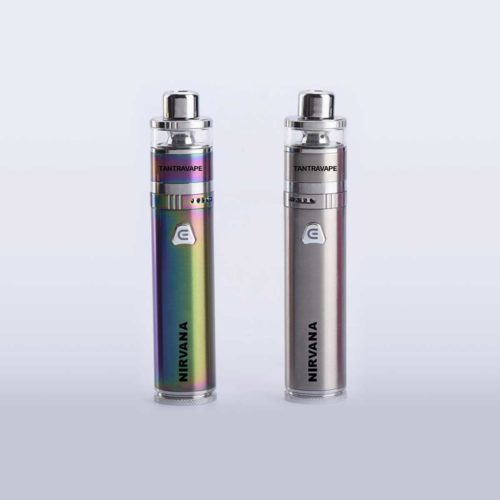 Both colors of Nirvana vape pen
